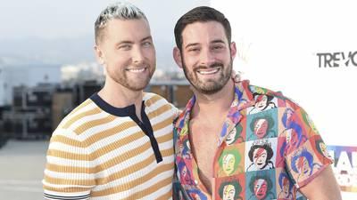 'N Sync singer Lance Bass, husband Michael Turchin welcome twins