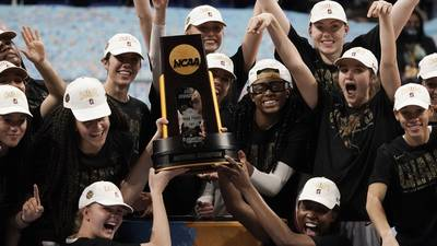 Photos: Stanford holds off Arizona 54-53 to win NCAA women's basketball title
