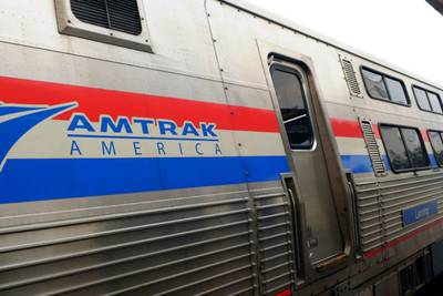 Amtrak crash: 4 hurt after train crashes into semi carrying cars in Oklahoma