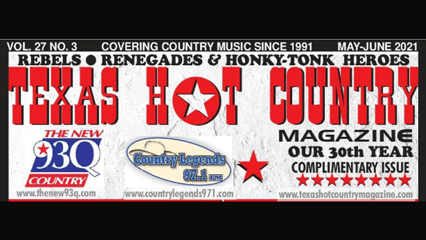 Latest Issue of Texas Hot Country Magazine