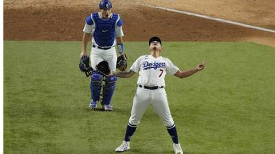 Photos: Dodgers defeat Braves in NLCS Game 7 to reach World Series
