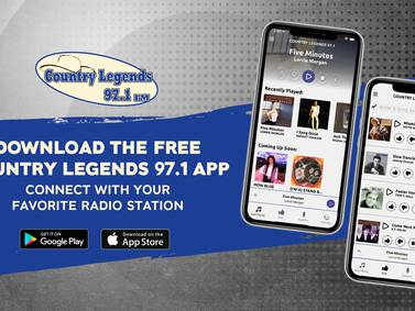 LISTEN LIVE: Listen to Country Legends 97.1 now!